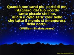 POESIA DA ROMEO E GIULIETTA, William Shakespeare
