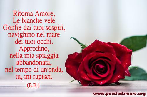 Poesia Ritorna Amore